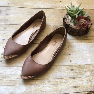 Cathy Jeans flats